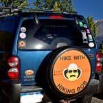 Hikking Bob Jeep Tire Cover