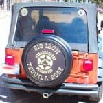 advertising business tire cover