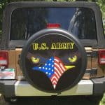 US Army tire cover