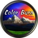 Color Burn beautiful blend of colors