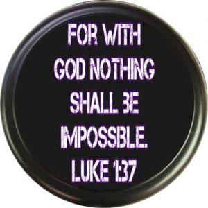Bible verse tire cover