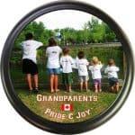 Grandparents personalized RV tire cover
