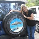 Custom Jeep Wrangler tire cover
