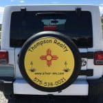 Tire covers for realtors