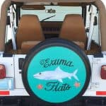 Spare tire covers for Jeeps
