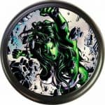 She-Hulk spare tire covers